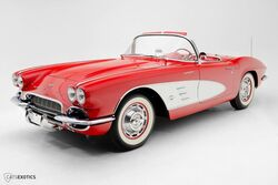 Chevrolet Corvette Fuelie Convertible 1961