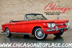 1962_Chevrolet_CORVAIR_Monza 900 - 2.4L FLAT-SIX CYLINDER ENGINE REAR WHEEL DRIVE BLACK LEATHER INTERIOR CHROME EXTERIOR ACCENTS + TRIM DRIVER QUALITY PAINT_ Bensenville IL