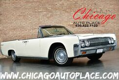 1963_Lincoln_Continental_Convertible - 430 cubic inch V8 Engine COACH DOORS BURGUNDY LEATHER INTERIOR POWER CONVERTIBLE TOP POWER WINDOWS_ Bensenville IL