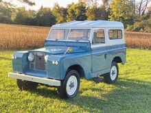 1964_Land Rover_Series II Model 88 Hardtop__ Crozier VA
