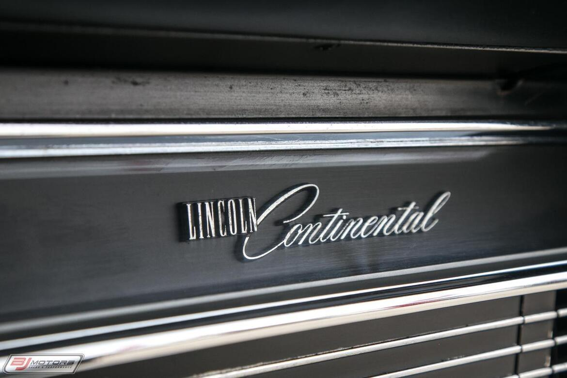1964 Lincoln Continental Low Rider Lincoln Tomball TX