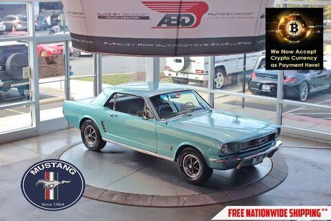 1966_Ford_Mustang V8_Coupe_ Chantilly VA