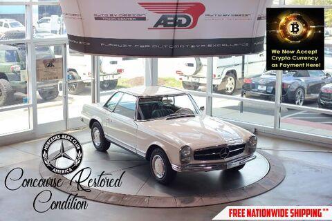 1966_Mercedes-Benz_230sl_Convertible_ Chantilly VA