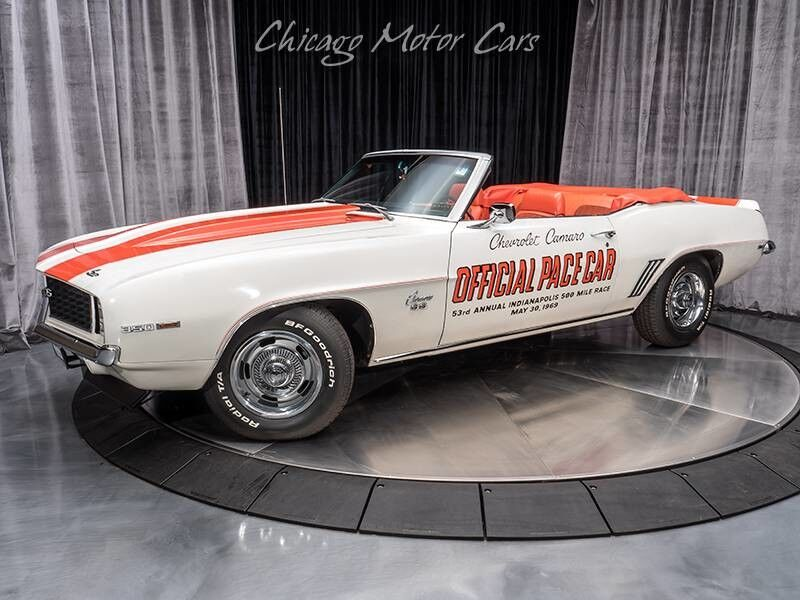 1969_Chevrolet_Camaro_SS Pace Car Convertible_ Chicago IL