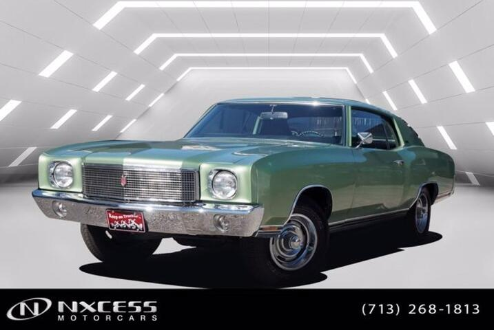 1970 Chevrolet Monte Carlo V8 Two Barrel 350 with Power Glide 2 Speed First Gen Monte Carlo  Houston TX