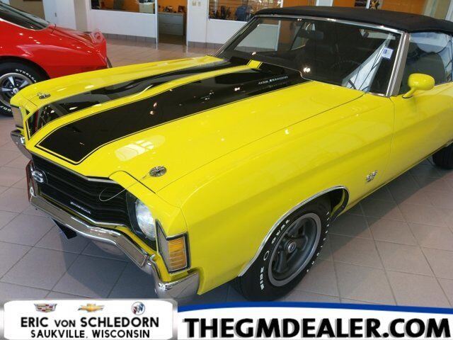 1972 Chevrolet Chevelle SS 454 Conv Milwaukee WI