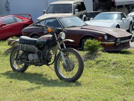 1974 Harley Davidson SX350 Sprint Aermachi  Crozier VA
