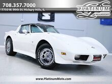 1978_Chevrolet_Corvette L48_25Th Anniversary T Tops 4 Speed Numbers Matching Completely Restored_ Hickory Hills IL