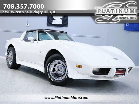 1978 Chevrolet Corvette L48 25Th Anniversary T Tops 4 Speed Numbers Matching Completely Restored Hickory Hills IL