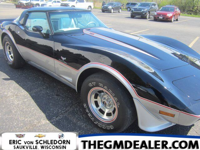 1978 Chevrolet Corvette Limited Edition Coupe L-82 Automatic w/Leather Milwaukee WI