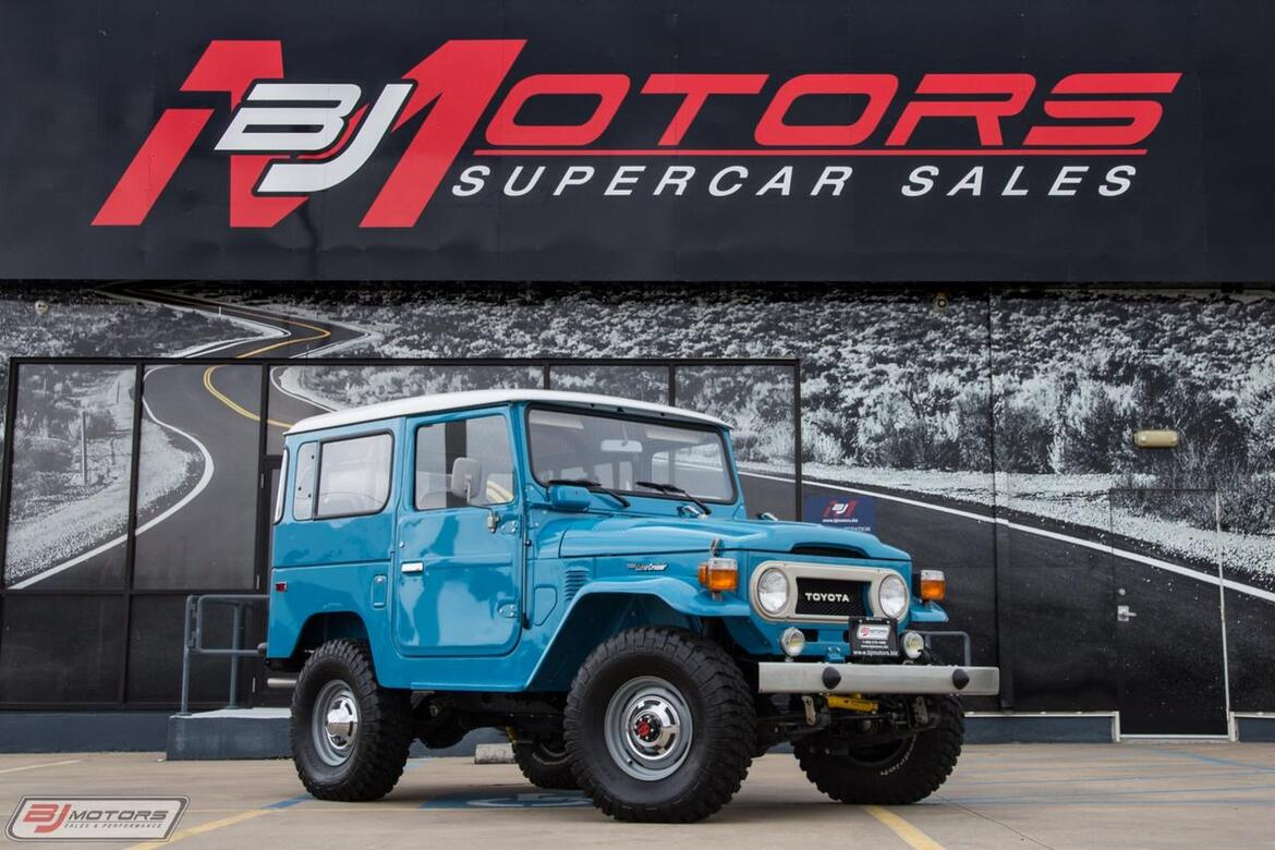 1978 Toyota Land Cruiser FJ40 Tomball TX