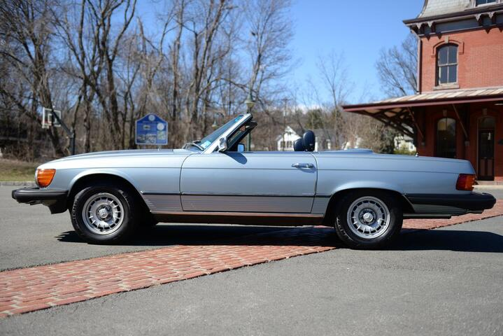 1980 Mercedes-Benz 450 SL  Hopewell NJ