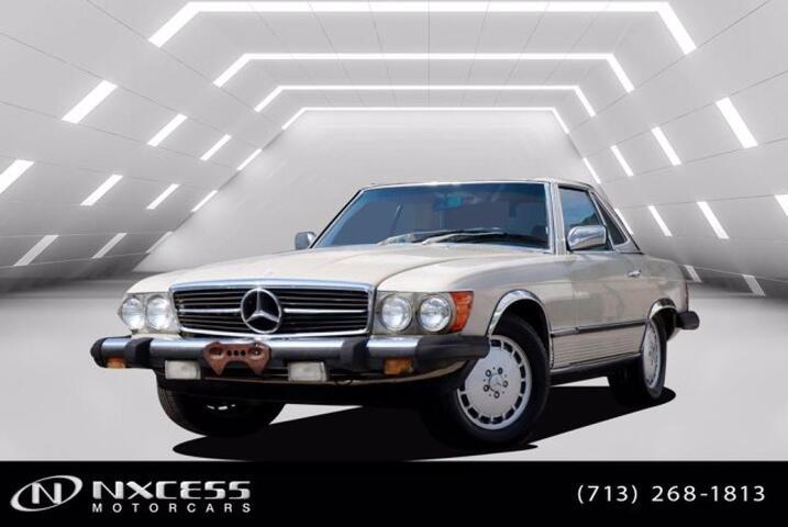 1981 Mercedes-Benz 380 Series 380SL Houston TX