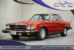1982_Mercedes Benz_SL500__ Englewood CO