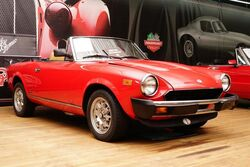 FIAT SPIDER 5 SPEED MANUAL 1983
