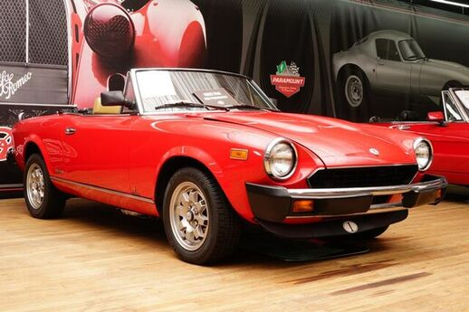 1983 FIAT SPIDER 5 SPEED MANUAL Hickory NC