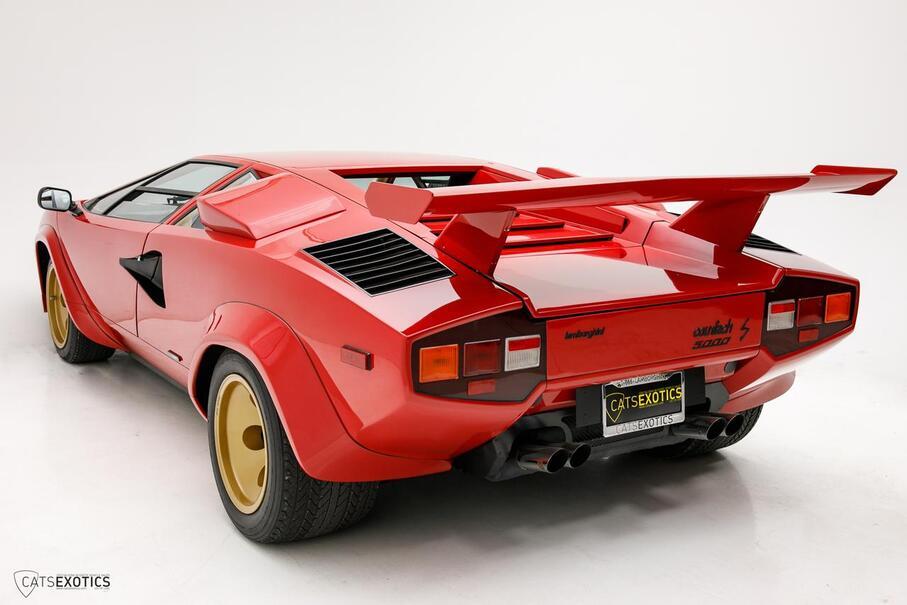 1983 Lamborghini Countach LP5000S  Seattle WA