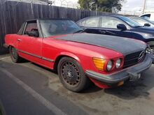 1983_Mercedes-Benz_380 Series_380SL_ Redwood City CA