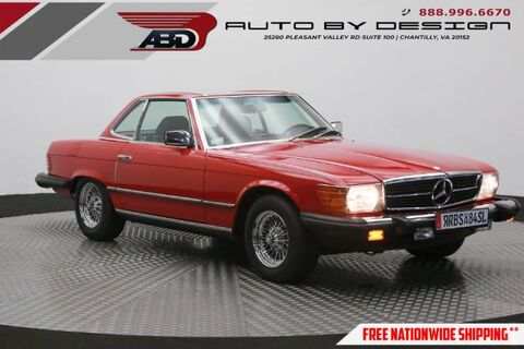 1984_Mercedes-Benz_380_SL_ Chantilly VA