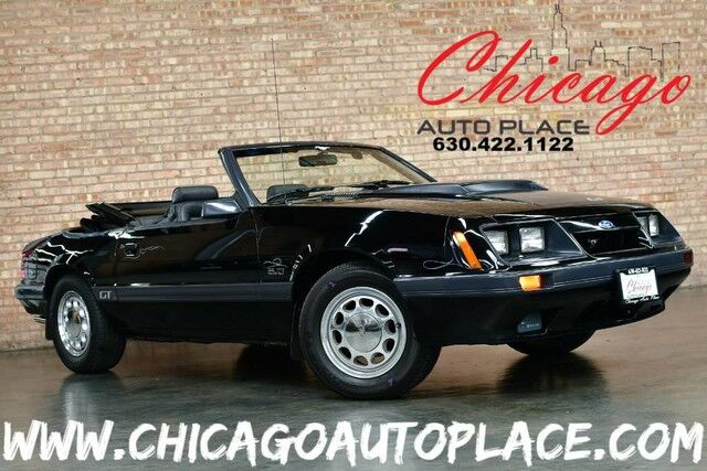 1985 Ford Mustang Gt 5 0 Convertible