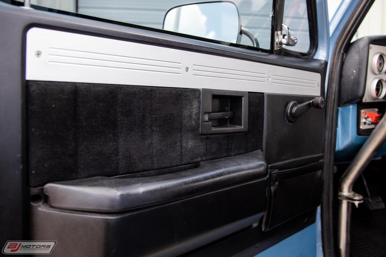 1986 Chevrolet C/K 10 Resto-Mod Tomball TX