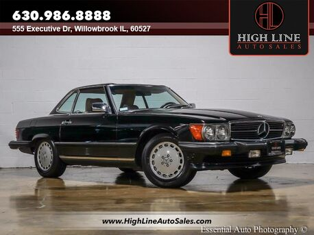 1986 Mercedes-Benz sl560 convertible