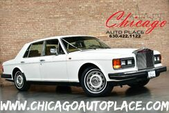 1986_Rolls-Royce_Silver Spirit_- 1 OWNER WEST COAST CAR ORIGINAL PAINT & MILES WOOD GRAIN INTERIOR TRIM CLIMATE CONTROL REAR TRAY TABLES POWER OPTIONS_ Bensenville IL