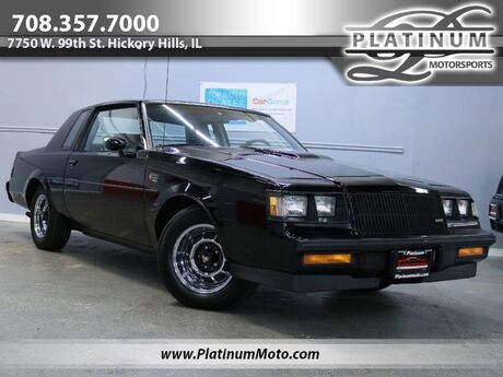 1987 Buick Grand National 2 Owner Stock Hard Top Power Windows Locks Low Miles Hickory Hills IL