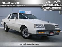 1987_Buick_Regal Turbo T_Rare Astro Roof Column Shifter_ Hickory Hills IL