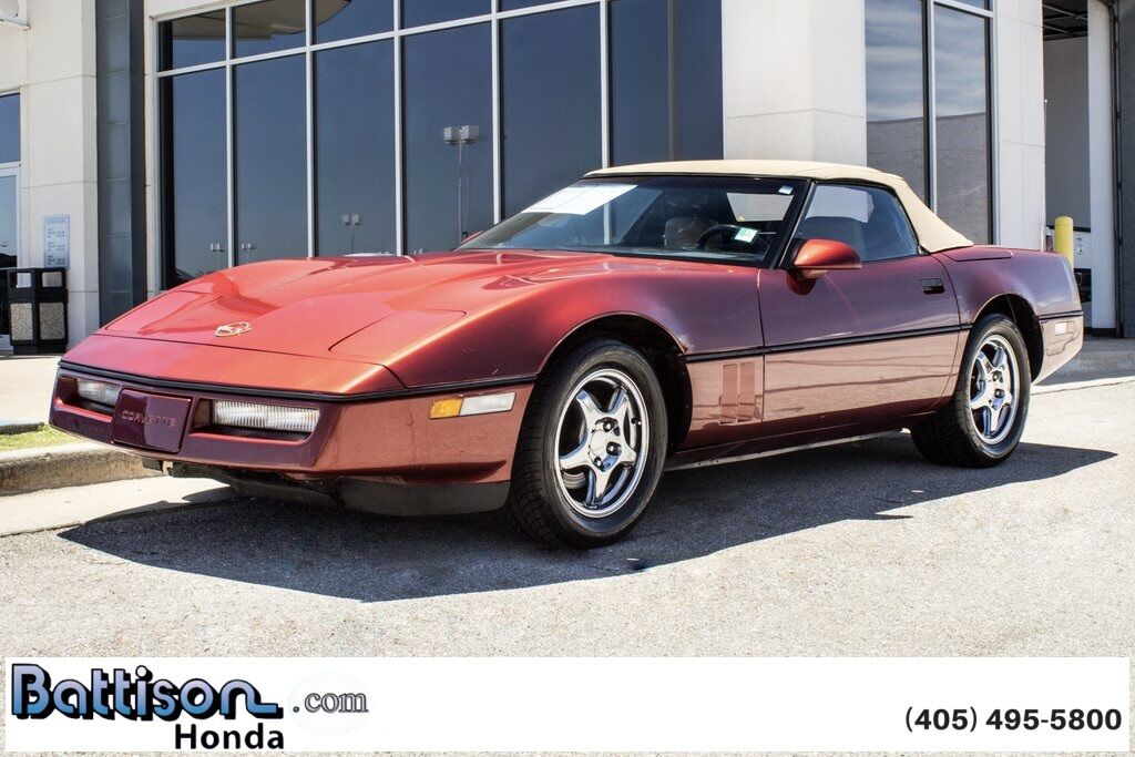 1987 Chevrolet Corvette Base Oklahoma City OK