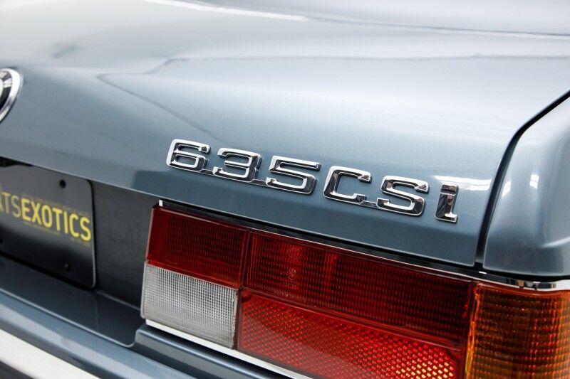 1988 BMW 635CSi  Seattle WA