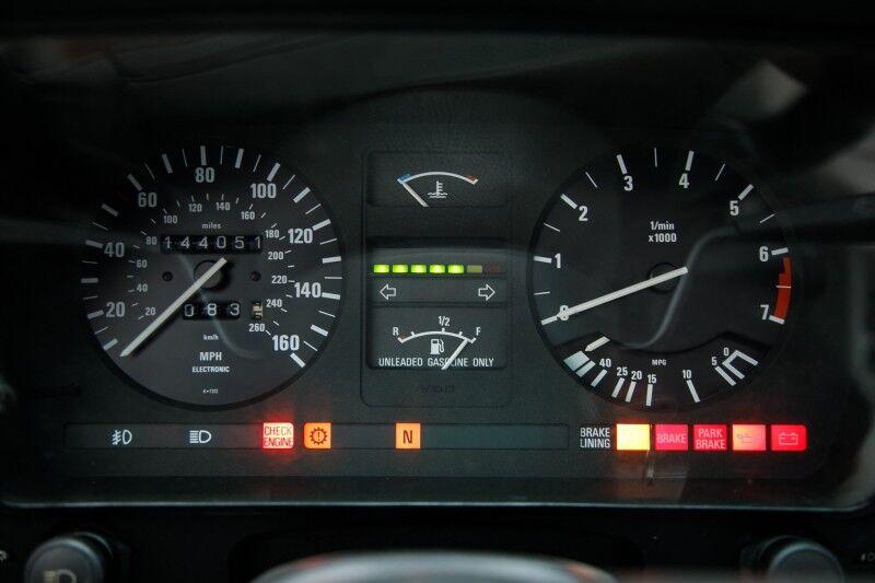 1988 BMW 635CSi 635CSi Seattle WA