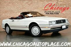 1988_Cadillac_Allante'_HARDTOP/CONVERTIBLE - 4.1L 8-CYL ENGINE FRONT WHEEL DRIVE BURGUNDY RED LEATHER DIGITAL LCD GAUGES CLIMATE CONTROL PREMIUM ALLOY WHEELS_ Bensenville IL