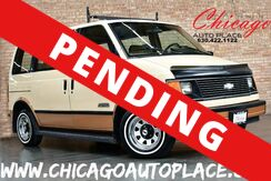 1988_Chevrolet_Astro PASSANGER_CS - 4.3L V6 CYLINDER ENGINE FRONT WHEEL DRIVE TAN LEATHER/CLOTH INTERIOR 3RD ROW SEATING_ Bensenville IL