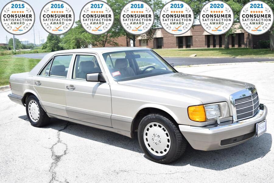 1988_Mercedes-Benz_500SE__ Glendale Heights IL