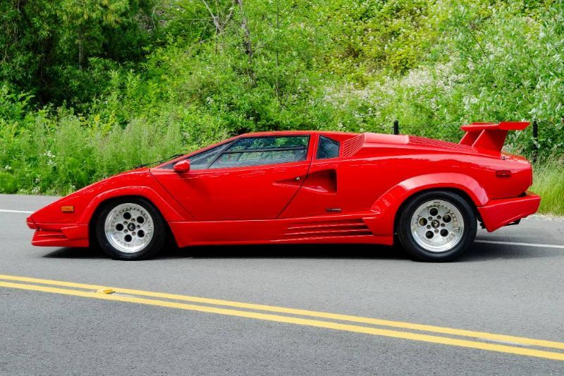 1989 Lamborghini Countach 25th Anniversary Seattle WA
