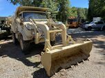 1989 Mercedes-Benz Freightliner FLU 419 UNIMOG Loader Backhoe 4x4