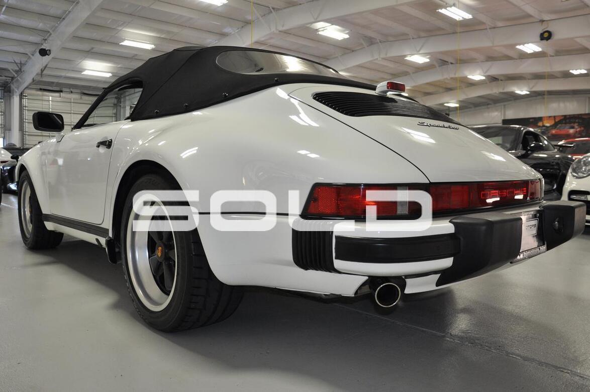1989 Porsche 911 Carrera Speedster Tomball TX