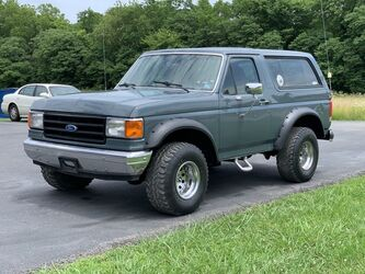 Ford Bronco Custom 1990