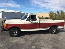 1990_Ford_F-150_REG CAB! 4WD GOOSE NECK HITCH! RUNS/DRIVES GREAT!_ Norman OK