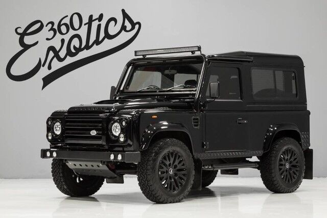 1990_Land Rover_Defender 90_Custom Built by Alpha Defenders_ Austin TX