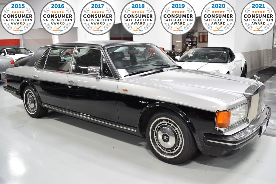 1990_Rolls-Royce_Silver Spur__ Glendale Heights IL