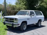 1991 Dodge Ram Charger 4X4