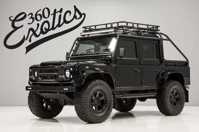 1991 Land Rover Defender 110 Crew Cab pickup Custom Built by Alpha Defenders Austin TX