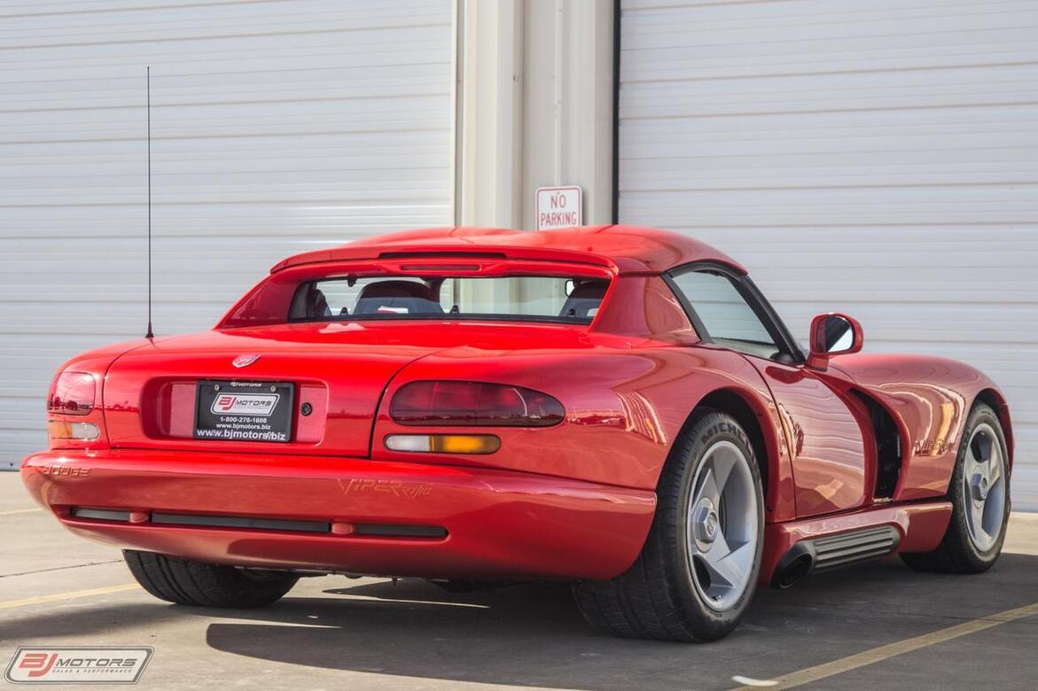 1992 Dodge Viper 2K Miles AC Hardtop RT/10 Tomball TX
