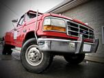 1992 Ford F-350 CUSTOM 4X2 REG CAB Styleside Dually W/ STICK SHIFT