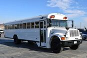 1993 Blue Bird 40 Passenger Bus Diesel Rear A/C  Fort Worth TX