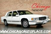 1993 Cadillac Deville Sedan - 4.9L 8-CYL ENGINE FRONT WHEEL DRIVE BLUE LEATHER WOOD GRAIN INTERIOR TRIM POWER SEATS