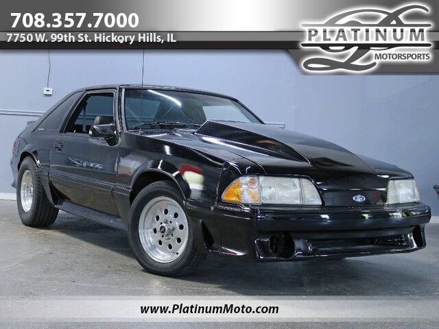 1993 Ford Mustang GT 2 Owner Vortech Supercharger C4 Trans Built FoxBody Hickory Hills IL