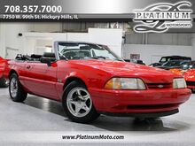 1993_Ford_Mustang LX 5.0_Rare Find 1 of 601 Auto Power Everything Factory Chrome Pony's All Vin Tags in Place_ Hickory Hills IL